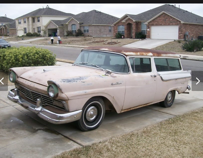1957 Ford Ranch Wagon Before