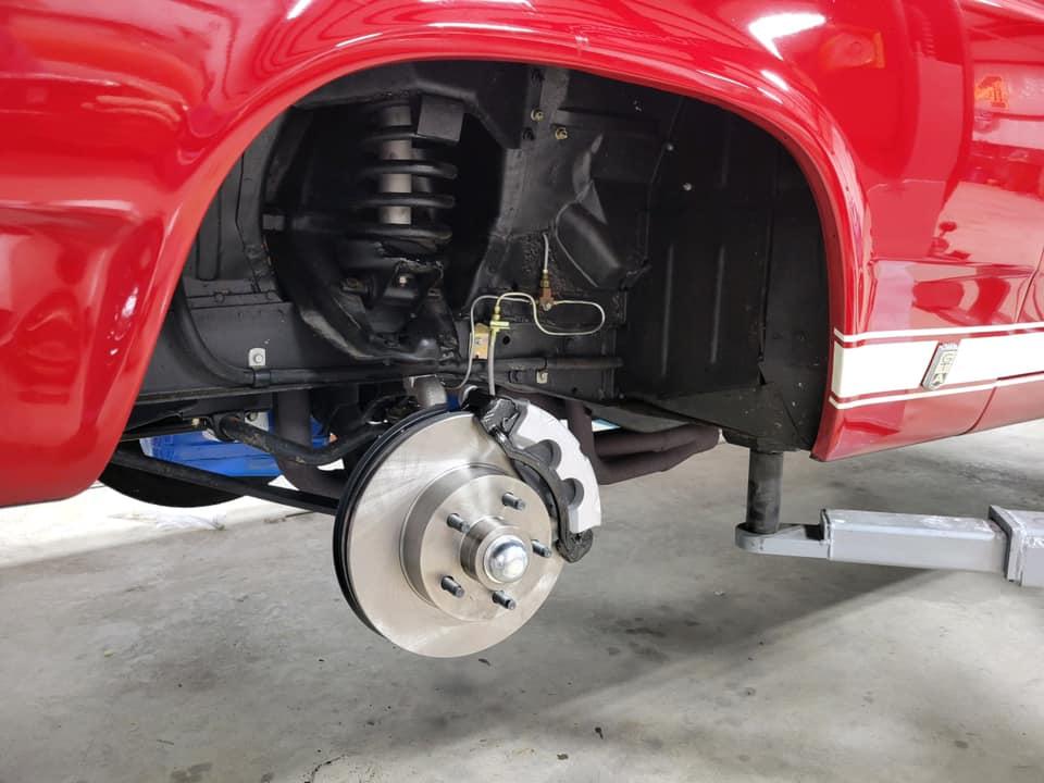 1966 Ford Fairlane GTA Disk Brake Swap