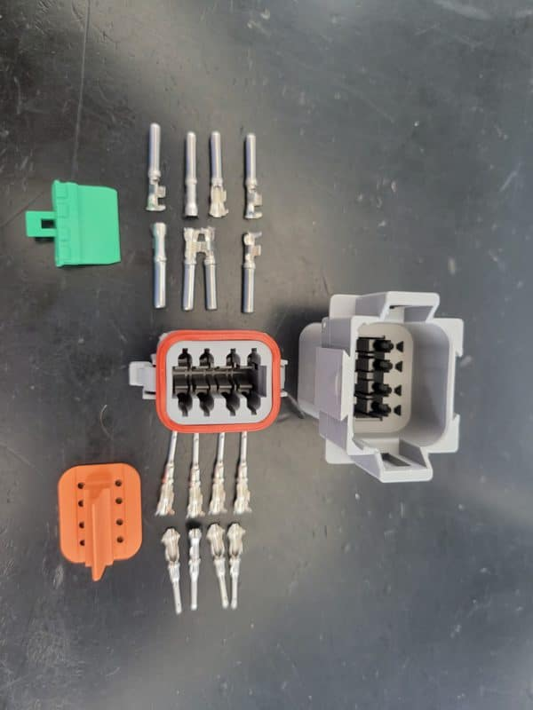8 Pin Deutsch Connector 22-16awg