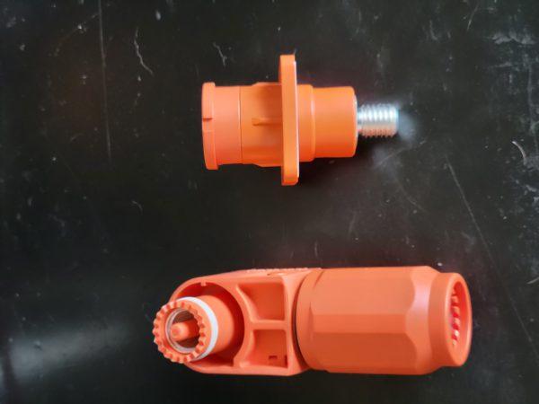 High Power Connector - Sealed - Orange