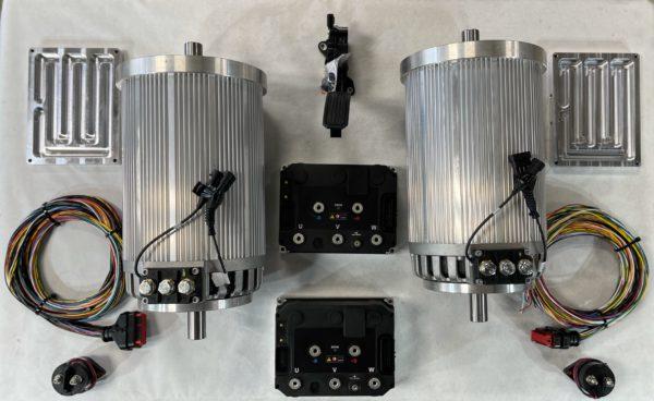 Dual NetGain Hyper 9 HV Dual Shaft 144V